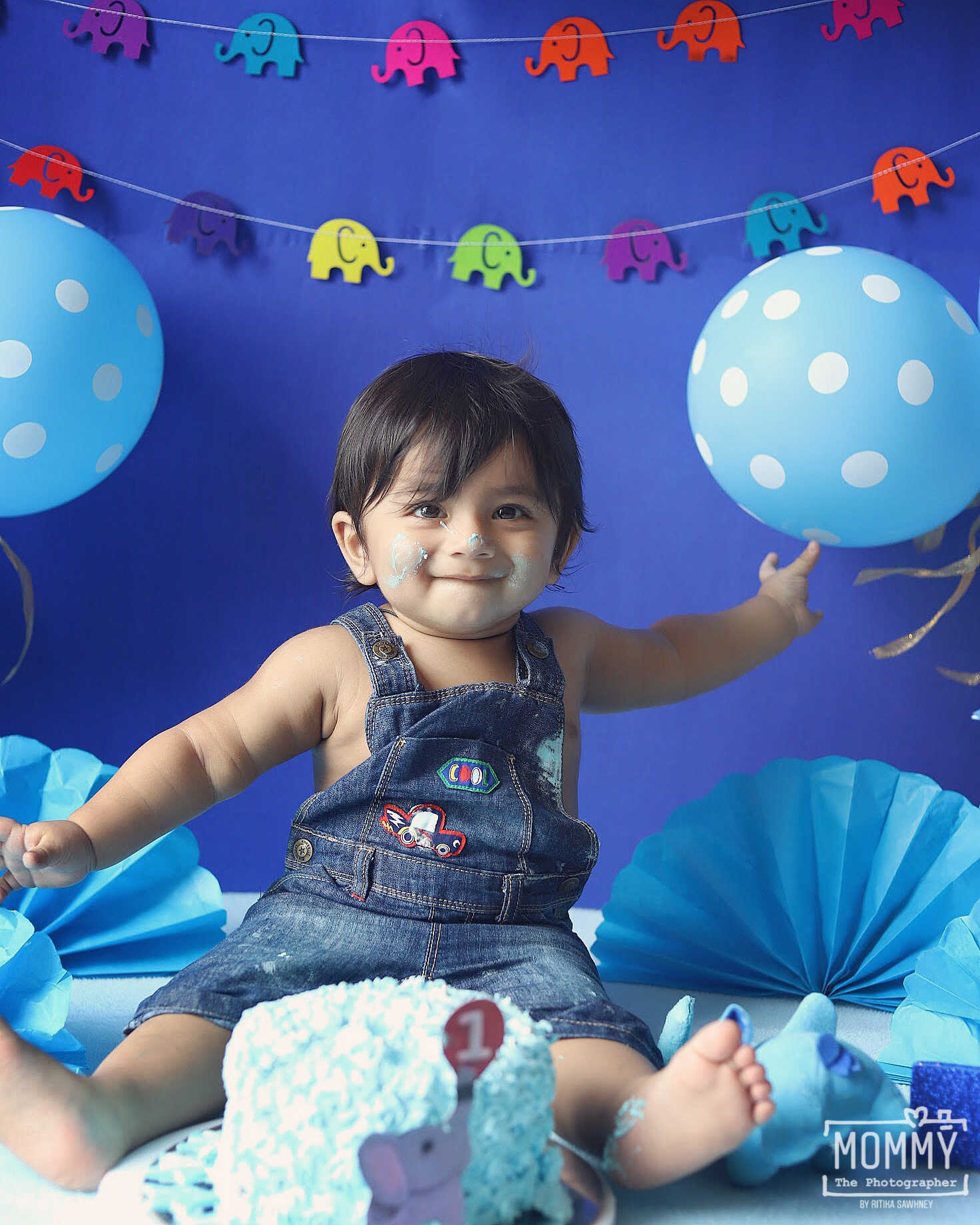 Cake Smash & Family Photography – Kabir – By Ritika Sawhney – Thane / Mumbai